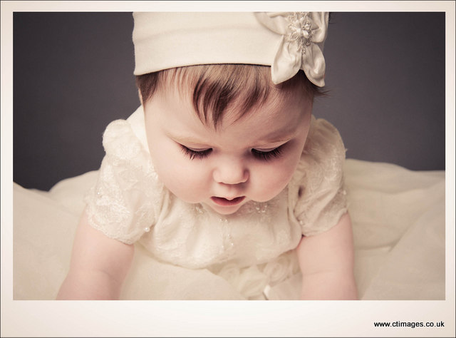 bolton photographer baby in christening gown 3