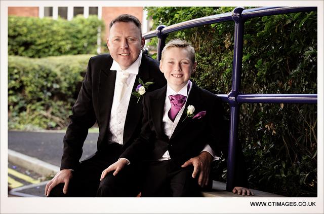 holiday-inn-bolton-weddings-photography-groom-and-son
