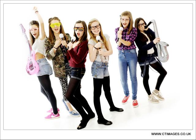 teenage photo party