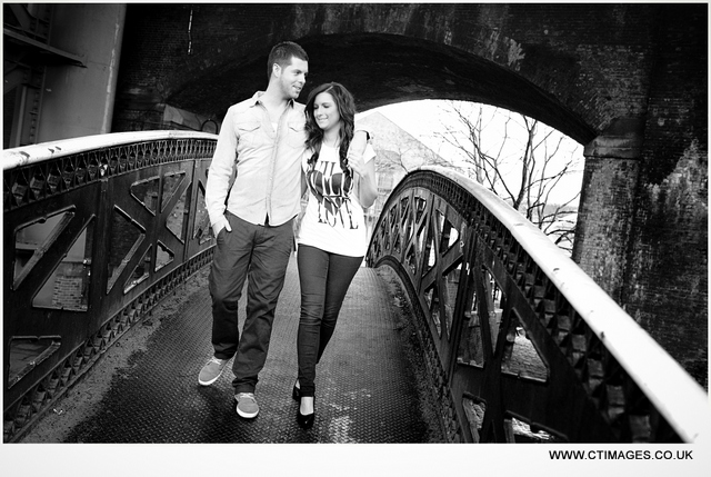 castlefield engagement photography