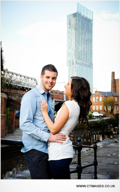 urban wedding photography manchester