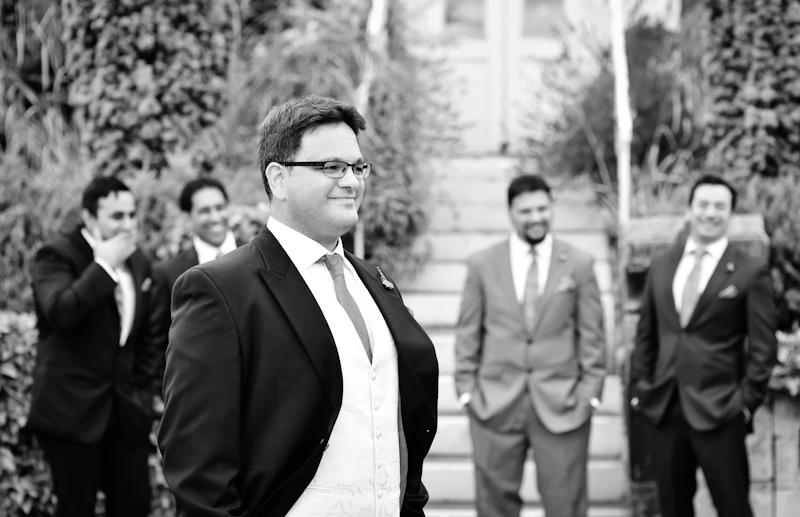 alderley edge wedding photography of groomsmen
