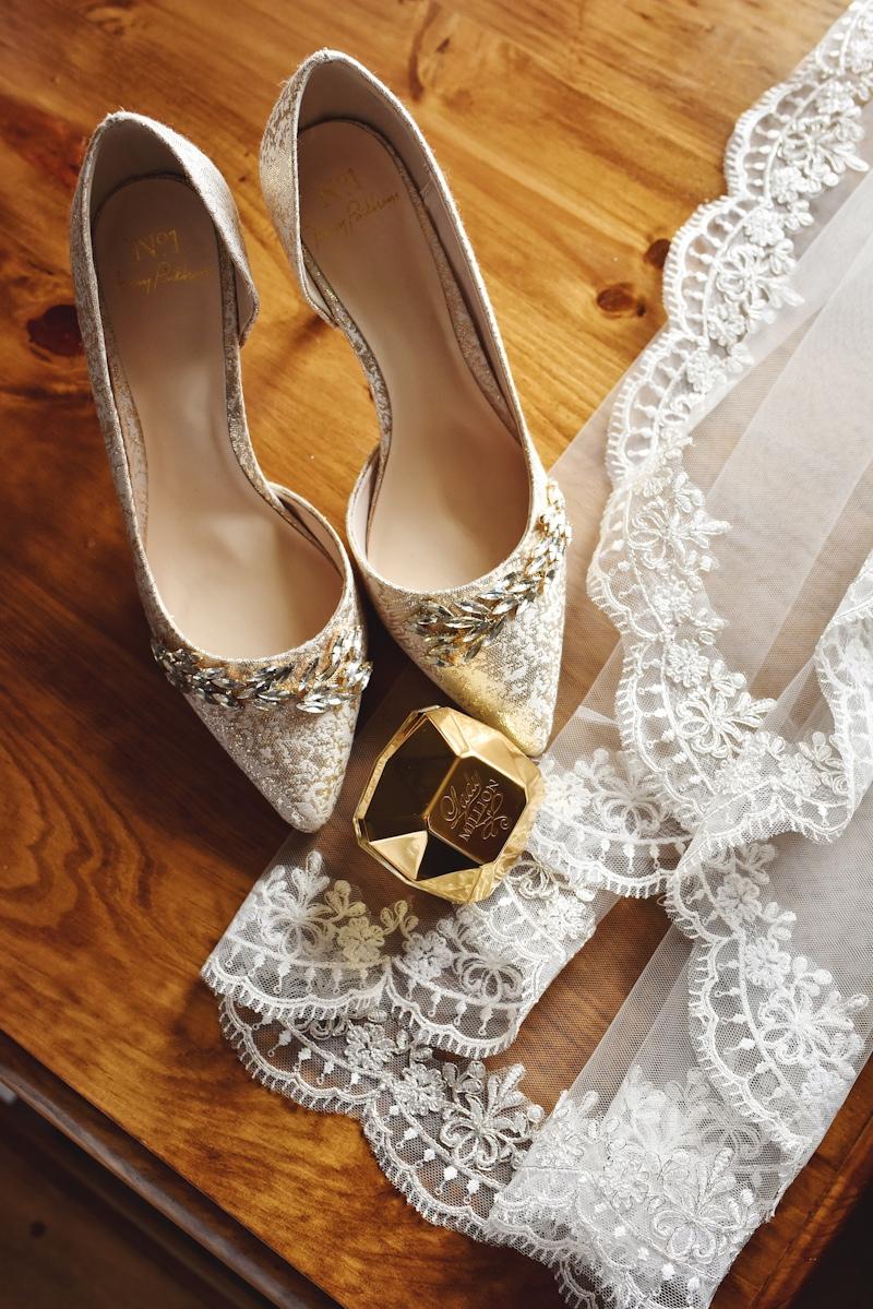 jenny packham wedding shoes photo