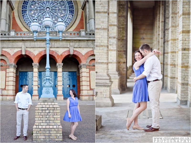 alexandra palace,engagement photography,