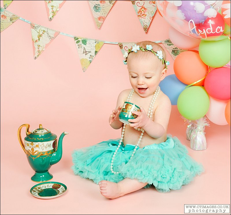 Cake Smash and Tea Party Photos