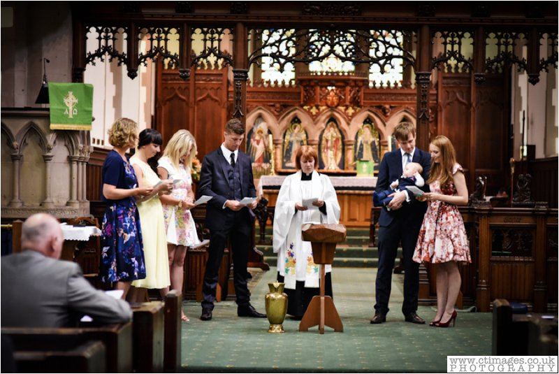 christening ceremony in bolton