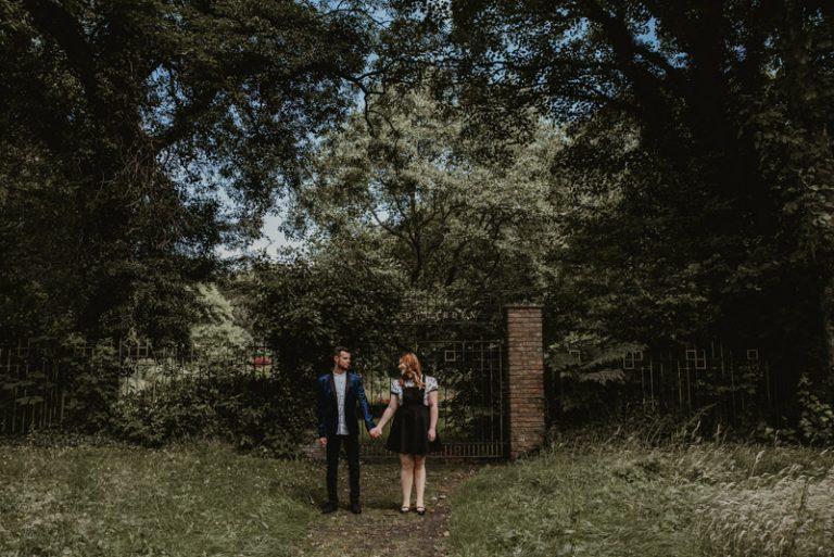 Outdoor Portrait Session | Alex and Patrick