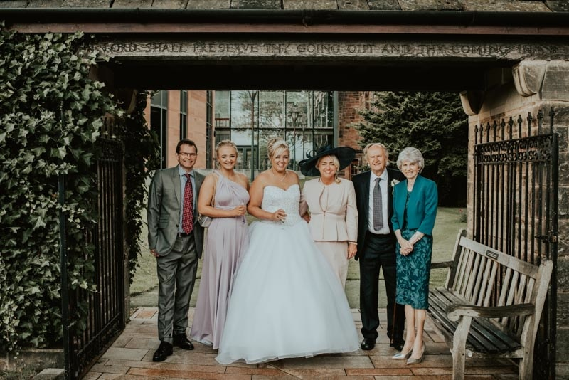 Photos from Bolton school wedding