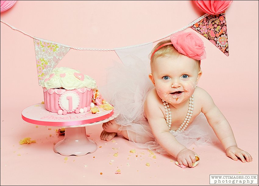 First Birthday Celebrations were a real Smash for Amelia.