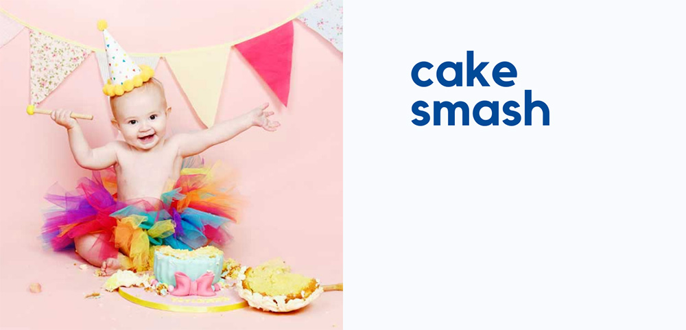 cake smash photos bolton