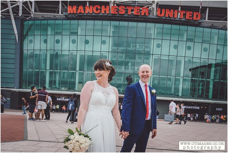 Hotel Football Wedding in Manchester