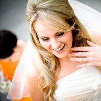 ORANGE BLOOMS / Bolton Wedding Photography Kat+Troy