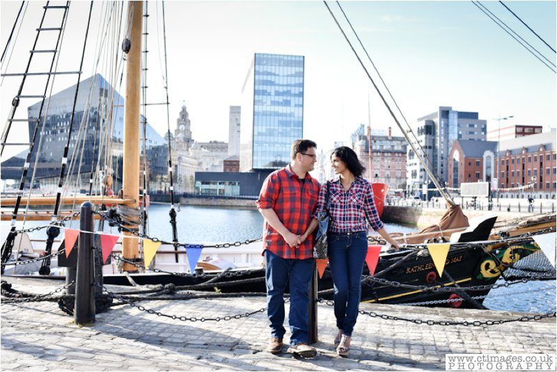 Liverpool Engagement Photography | Andrea & Stephen