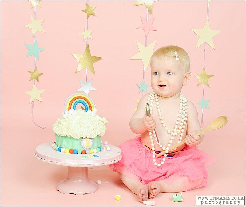 rainbow birthday cake, baby birthday, cake smash rainbow cake,