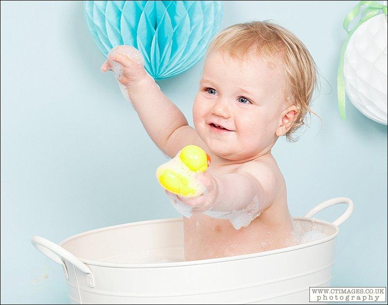 baby in bath, rubber ducks, bath time bubbles, bath tub,