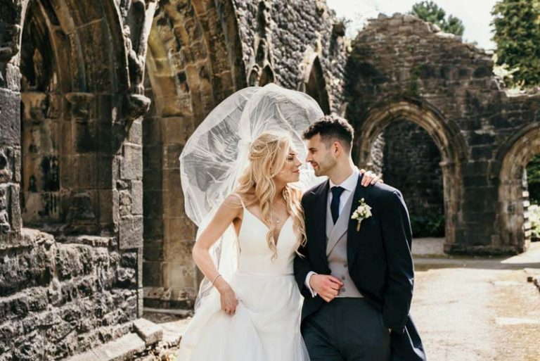 Mitton Hall and Whalley Abbey Summer Wedding