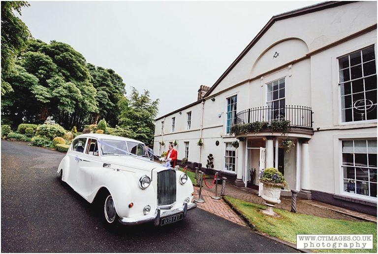 Ridgmont House: Catherine & Ross Renew their Vows at Rivington Parish Church