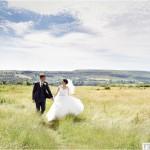 wedding photograph rivington hall barn
