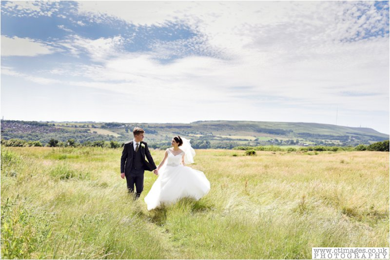 wedding photograph rivington hall barn