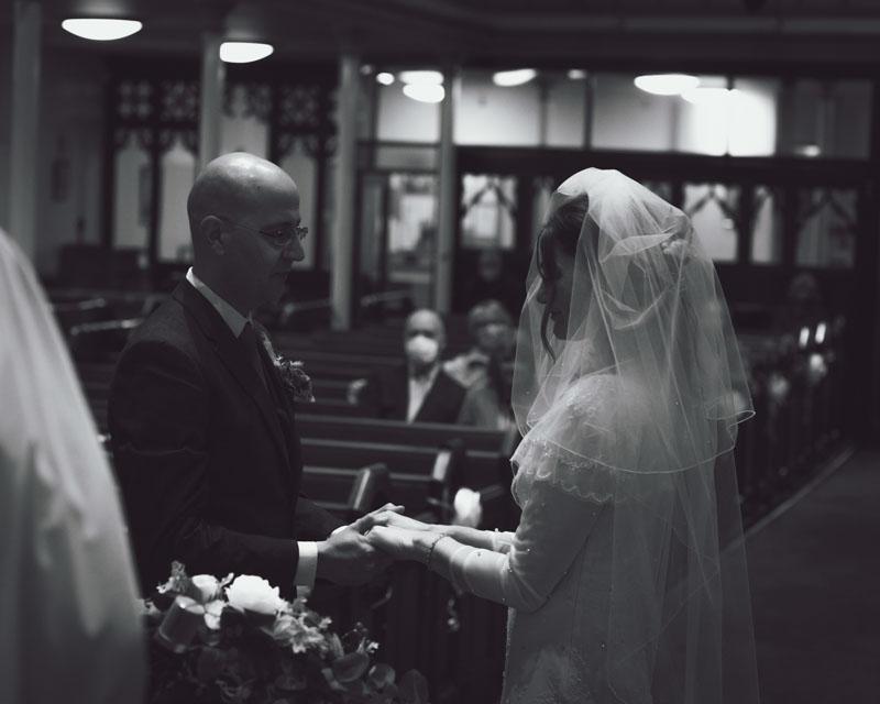 november rain and rainbows – my friends wedding