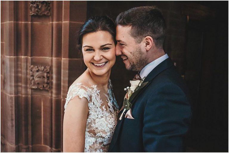 Sparkly Winter Wedding at Bolton School